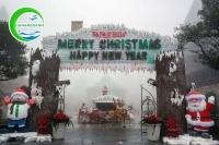 Bà Nà nơi có không khi Giáng Sinh đúng điệu