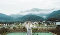 """Đứng hình trước """"Thiên đường cổ trang"""" đẹp xuất thần ở Yên Tử"""
