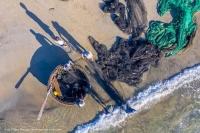 Kéo lưới ở biển Mân Thái Đà Nẵng