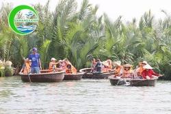 Tour khám phá đường sông Hội An rừng dừa