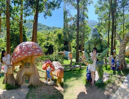 Tour Bạch Mã village 1 ngày từ Đà Nẵng