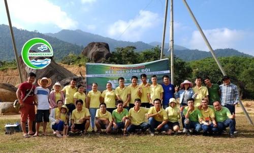 Tour Núi Thần Tài - teambuilding