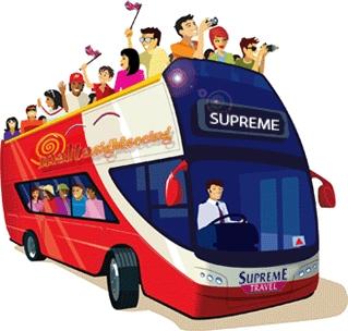 Xe bus Hội An từ Đà Nẵng